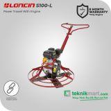 Loncin TPS 100-L Power Trowel Dengan Mesin Bensin