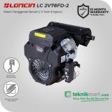 Loncin LC2V78FD-2 Twin Engine 22 HP Mesin Penggerak Bensin