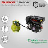 Loncin LC170F-C-DL 7 HP Mesin Penggerak  Dual