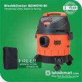Black And Decker BDWD10 1200Watt Vacuum Cleaner Wet & Dry / Penghisap Debu Basah & Kering