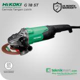 Hikoki G18ST 2000Watt 180mm Angle Grinder / Gerinda Tangan Listrik with Trigger Switch by Hitachi
