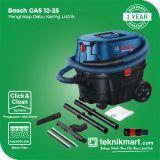 Bosch GAS 12-25 1350Watt 25Liter Vacuum Cleaner Wet & Dry / Mesin Penghisap Debu Basah & Kering