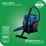 Bosch GAS 15 1100Watt Vacuum Cleaner Wet & Dry / Mesin Hisap Debu Listrik
