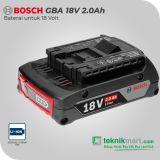 Bosch GBA 18 V-LI 2 Ah Baterai