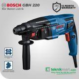 Bosch GBH 220 720Watt 2Joule Rotary Hammer / Bor Beton Listrik