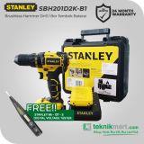 Stanley SBH201D2K-B1 18Volt Brushless Hammer Drill / Bor Tembok Baterai
