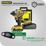 Stanley SBI201D2K-B1 18Volt Brushless Impact Driver / Obeng Impact Baterai