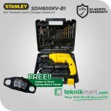 Stanley SDH600KV-B1 13MM 550Watt Impact Drill With Accessories / Bor Listrik Impact dengan Aksesories