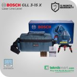 Bosch GLL 3-15 X  Laser Line Level / Waterpass laser