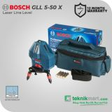 Bosch GLL 5-50 X  Laser Line Level 5 Lines / Waterpass Laser