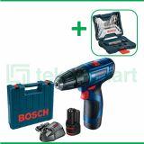 Bosch GSB 120-LI Gen3 12V Bor Baterai Impact Dengan Mata Bor Bosch X-Line Set  Multi Material 41 Pcs