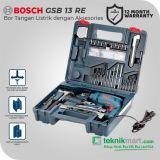 Bosch GSB 13 RE 650Watt 13mm Impact Drill With Hand Tools / Bor Tangan Listrik Impact dengan Aksesories Perkakas