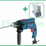 Bosch GSB 550 550 Watt 13 mm Bor Listrik Impact Dengan Mata Bor Bosch HSS-G For Metal 5 Pcs