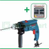 Bosch GSB 550 550 Watt 13 mm Bor Listrik Impact Dengan Mata Bor Bosch Self Cut Spade For Wood 6 Pcs