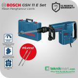 Bosch GSH 11 E Gen2 25Joule Demolition Hammer / Mesin Bobok Beton Listrik