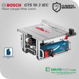 Bosch GTS 10 J IEC 1800Watt 254mm Table Saw Professional / Mesin Gergaji Meja Listrik