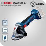 Bosch GWS 180-LI 18Volt Gerinda Tangan Baterai Brushless (Unit Only)