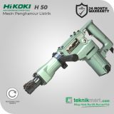 Hikoki H50 1140Watt 12Joule Demolition Hammer / Mesin Penghancur Listrik by Hitachi