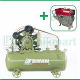Swan 7.5 HP HWU-307 Kompresor Angin Unloader Dengan Mesin Diesel S 195