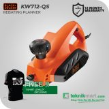 PROMO Black And Decker KW712 650Watt Planner / Mesin Serut Listrik