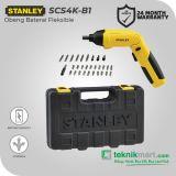 Stanley SCS4K 4 Volt Cordless Screwdriver Flexible / Obeng Baterai Fleksible