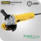 Stanley SG5100 580W 100mm Angle Grinder / Gerinda Tangan Listrik