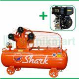 Shark 5 HP LWU-8005  Kompresor Angin Unloader Dengan Mesin Diesel D440FD
