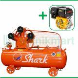Shark 5 HP LWU-8005  Kompresor Angin Unloader Dengan Mesin Bensin G 390F