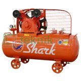 Shark 7.5 HP LVP-1075 Kompresor Angin Automatic Kosongan  7.5 HP 1P