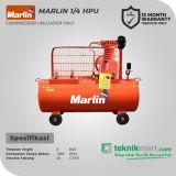Marlin MRL 1/4 HP Kompresor Angin Unloader Kosongan