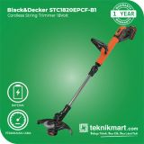 Black And Decker STC1820EPCF 18Volt Cordless String Trimer