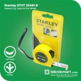 Stanley STHT33491-8 3 Meter White Series Measuring Tape / Meteran
