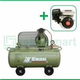 Swan 1/4 HP SU-114 Kompresor Angin Unloader Dengan Mesin Bensin SDP 200