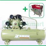 Swan 15 HP SWU-415 Kompresor Angin Unloader Dengan Mesin Diesel S 1115 M