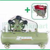 Swan 10 HP SWU-310 Kompresor Angin Unloader Dengan Mesin Diesel S 1110 M