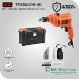 PROMO Black And Decker TP555 10 mm Bor Listrik Impact