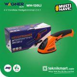 Wagner WH 120-LI 4V 2in1 Cordless Hegdetrimmer / Potong Pagar Tanaman