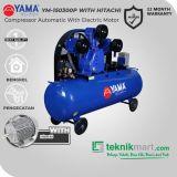 Yama 15 HP YM150-300P Kompresor Angin Automatic Dengan Motor Hitachi 15 HP 3P