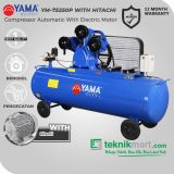 Yama 7.5 HP YM75-250P Kompresor Angin Automatic Dengan Motor Hitachi 7.5 HP 3P