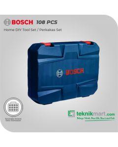 Bosch 108 pcs Home DIY Tool Set MultiFungsi
