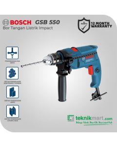 Bosch GSB 550 550Watt 13mm Impact Drill / Bor Tangan Listrik Impact