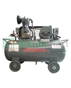 Hitachi 1 HP 1P 0.75P-9.5VS5A Kompresor Angin Automatic Dengan Motor Hitachi 1 HP 1P